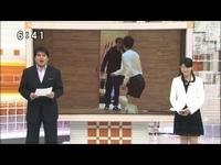 永島昭浩キャスター2011年初噛み&笑いを堪える長野翼アナ